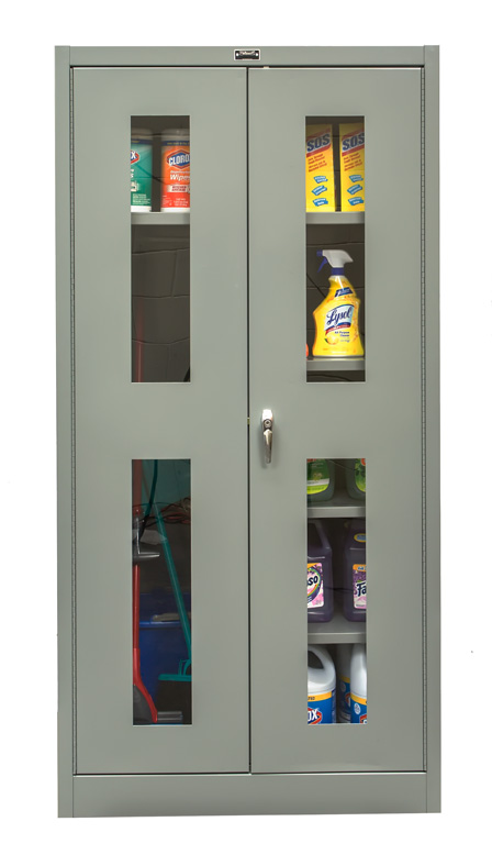 Beau KD Solid Door Cabinets, Safety View 800 Series ...