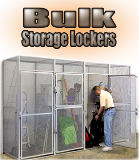 Bulk Storage Lockers By Hallowell Bsl