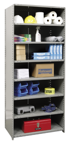 Hi-Tech Shelving - Standard Closed Unit