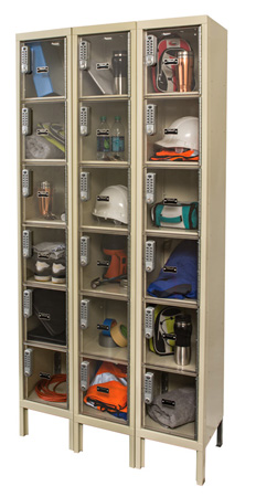 Safety View Windowed Wardrobe and Box Lockers