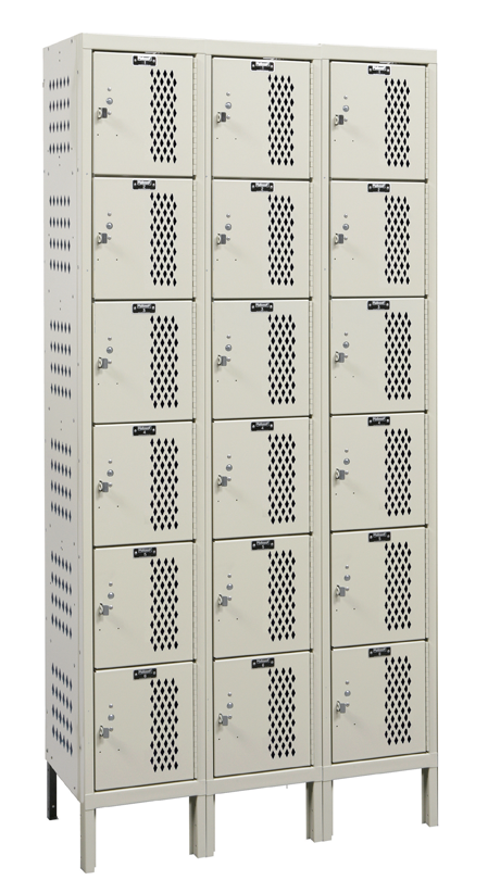 Athletic Lockers By Hallowell Hdv Heavy Duty Ventilated