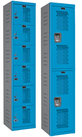 Heavy Duty Ventilated Lockers - HDV