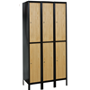 Double-Tier Hybrid Wardrobe Lockers with legs