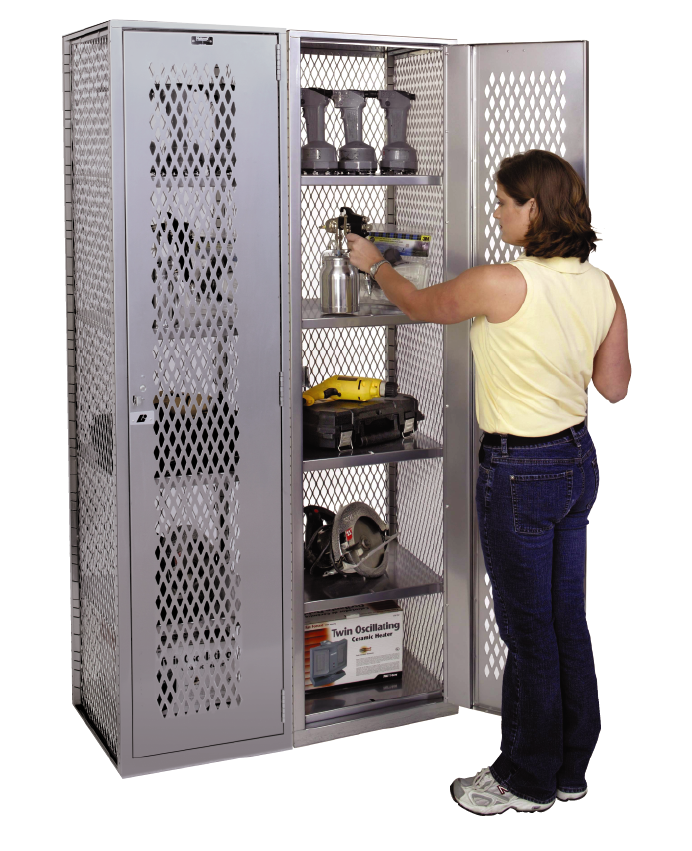 All Welded Gear Lockers By Hallowell Max View All Welded