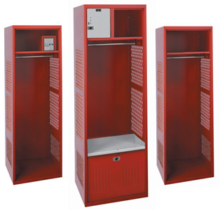 HSL 00 Open Gear All Welded Sport Lockers