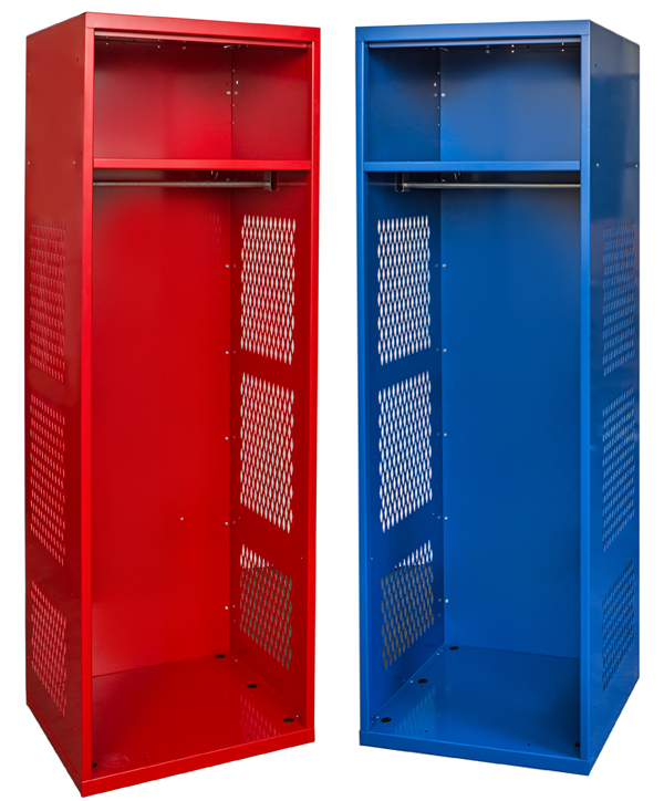 Kd Gear Lockers By Hallowell Rookie Open Front Stock Lockers