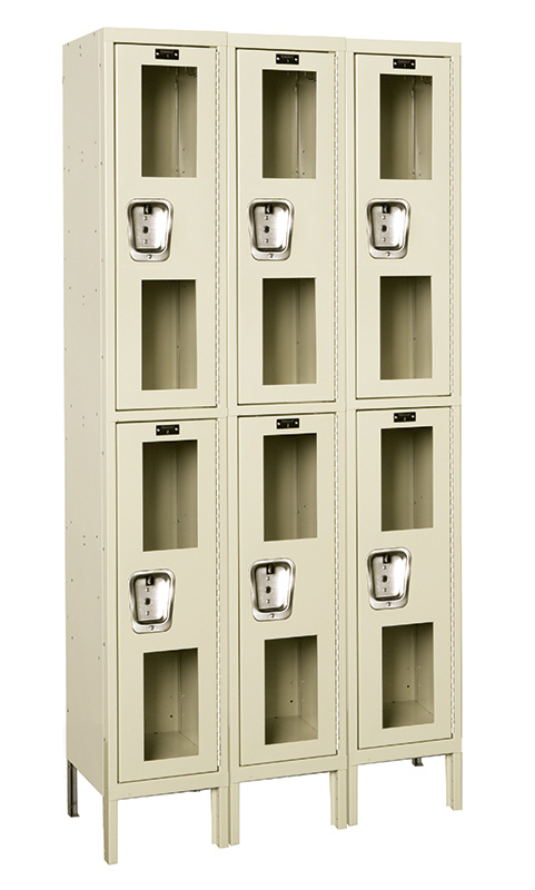 Windowed Lockers By Hallowell Safety View Lockers