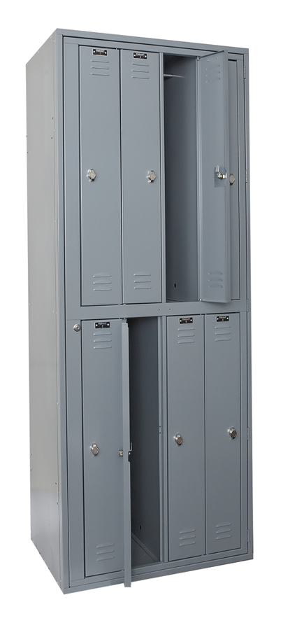 Uniform Exchange Lockers By Hallowell Uniform Exchange