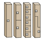Phenolic Locker Configurations