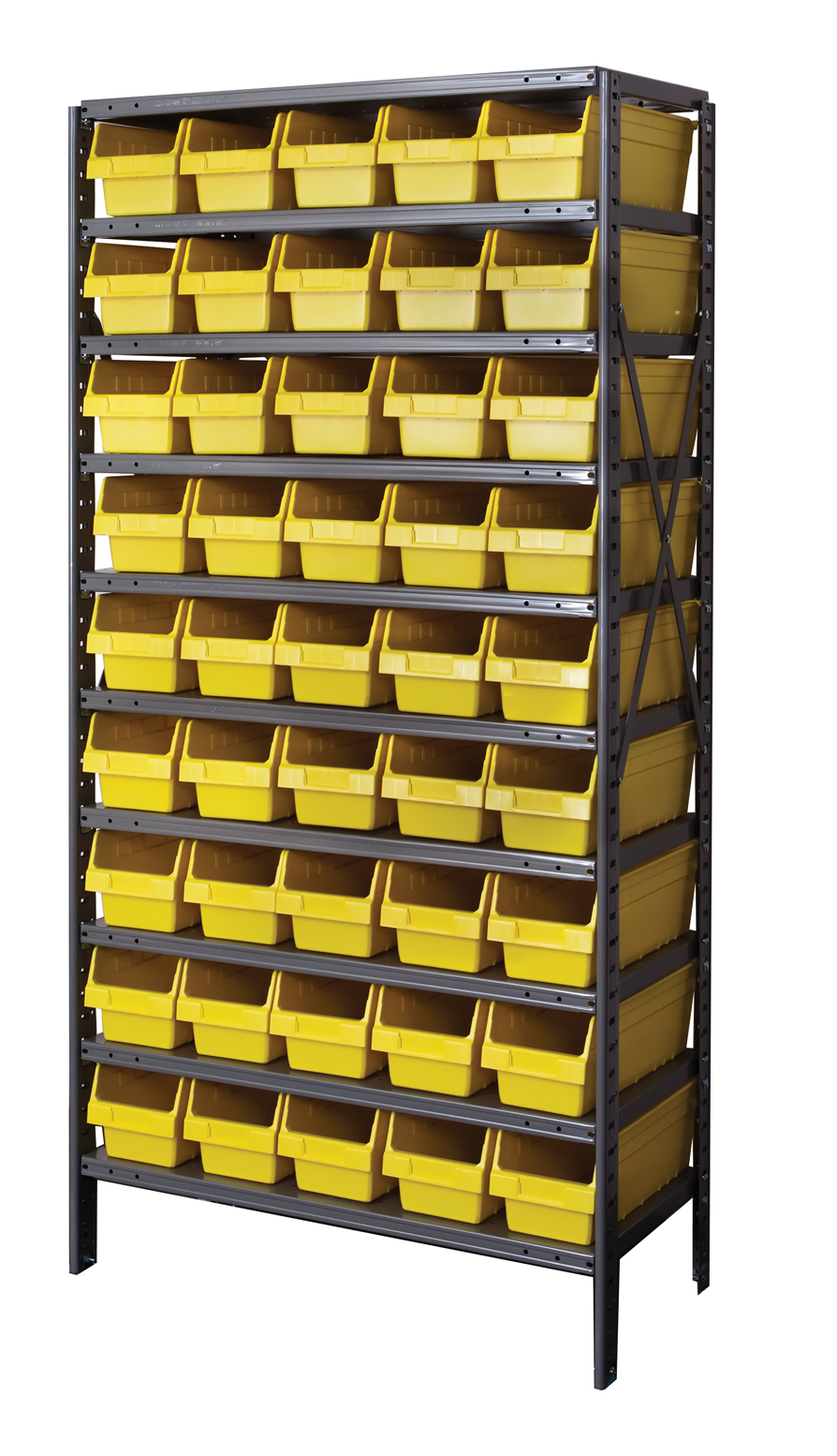 Plastic Bin Shelving Discontinued By Hallowell