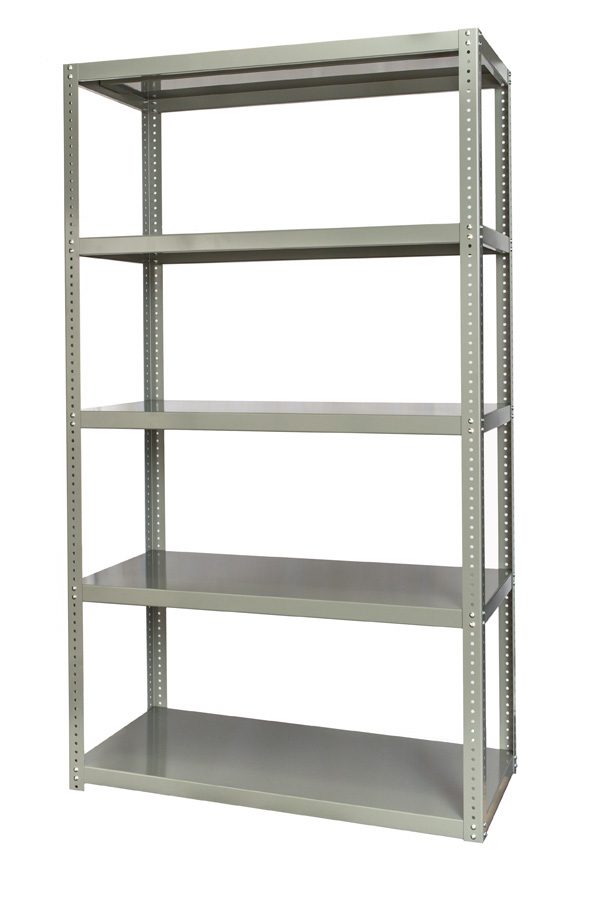 High Capacity Bolted Shelving Hallowell Shelving