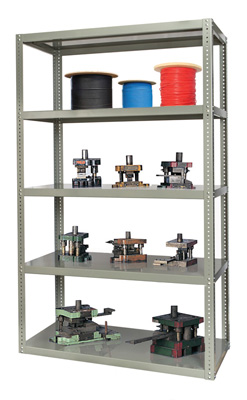 High Capacity Bolted Shelving