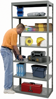 DuraTech Pass-Thru Shelving from Hallowell