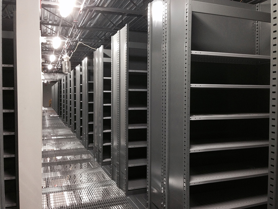 H Post Shelving Systems Hallowell